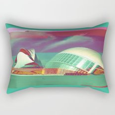 Valencia, Spain | Project L0̷SS   Rectangular Pillow