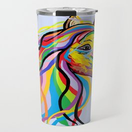 Horse of a Different Color Travel Mug
