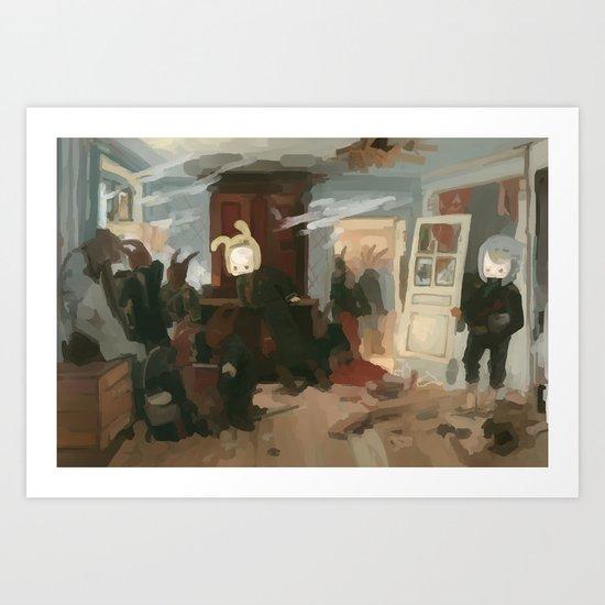 The House of the Last Cartridge Art Print