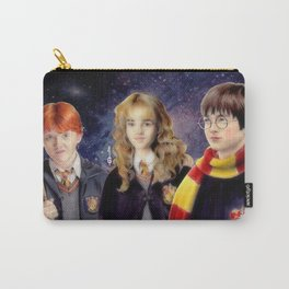 Harry, Hermione and Ron (fanart) Carry-All Pouch