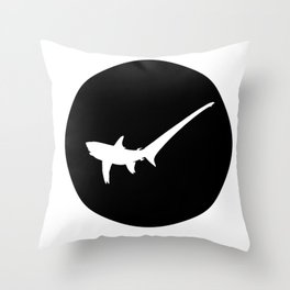 Pelagic Thresherr Throw Pillow