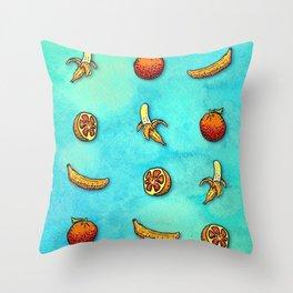 Orange Ya Glad I Didn't Say Banana? Throw Pillow