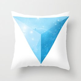 cosmic triangle Throw Pillow