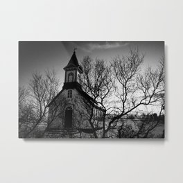 Iceland_Church Metal Print