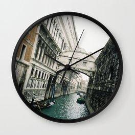 Venice Remember Wall Clock