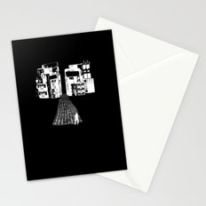 Dead Sound City (White on Black) Stationery Cards