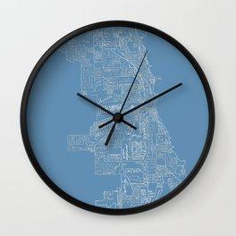 Communities of Chicago Wall Clock