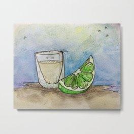 Tequila Shot #2 Metal Print