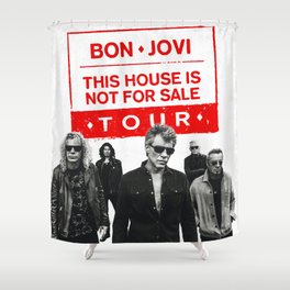 bon jovi this house not for sale album 2019 putro Shower Curtain