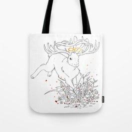 Infinity Rabbit Tote Bag