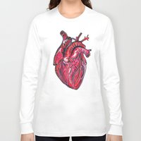 romance Long Sleeve T-shirts featuring Romance by Adam McDade