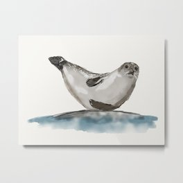 Seal-ing Seal Metal Print