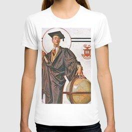 12,000pixel-500dpi - Joseph Christian Leyendecker - June Graduation - Digital Remastered Edition T-shirt
