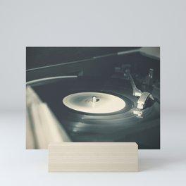 Vintage Vinyl Record Mini Art Print