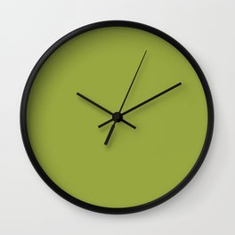 Simply Cactus Green Wall Clock