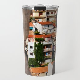Trogir through the stone wall Travel Mug