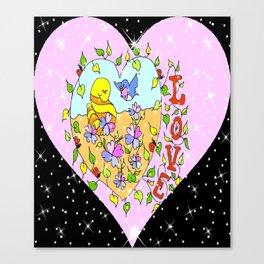 """Love Grows"" Canvas Print"