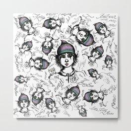Teddy Boo and ASH Metal Print