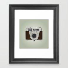 Vintage Camera II Framed Art Print