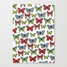 Flutterby Butterfly Canvas Print