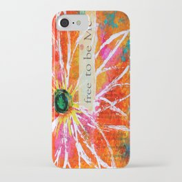 Free to Be ME iPhone Case