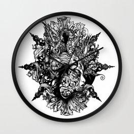 HUMAN FORM DEVINE / no 1 Wall Clock