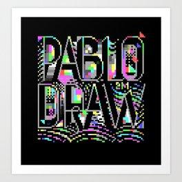 PabloDraw Art Print