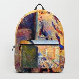 Edvard Munch Rue de Rivoli Backpack