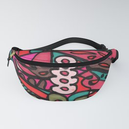 Make Art for Yourself (pink) Fanny Pack