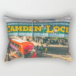 London Camden Lock  Rectangular Pillow