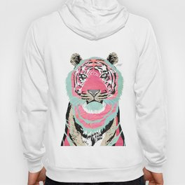 Pink Tiger Collage Hoody
