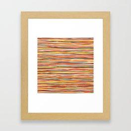 Colored Lines #1 Framed Art Print