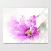 hot pink Canvas Prints featuring Hot Pink by Deborah Lehman