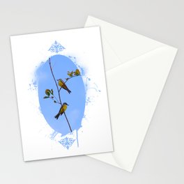 A fine pair Stationery Cards