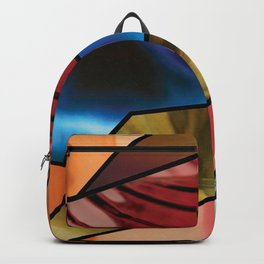 Angles of Nature ~ Design 06 Glass Backpack