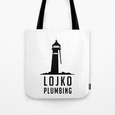 Lojko Plumbing Tote Bag