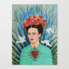 elevar my corazon Canvas Print