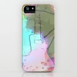 Rock 'n' Roll Fantasy iPhone Case