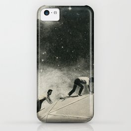 Space Station Maintenance iPhone Case