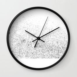 silver dusts#3 Wall Clock