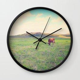 Great Prairie Wall Clock