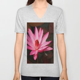Glowing Pond Beauty Unisex V-Neck