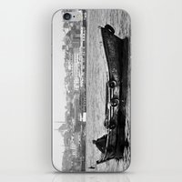 boat iPhone & iPod Skins featuring Boat by kartalpaf