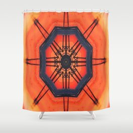 Communique Shower Curtain