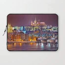 Prague-winte night Laptop Sleeve