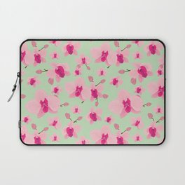 Pink orchid Laptop Sleeve