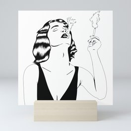 Smoke Mini Art Print