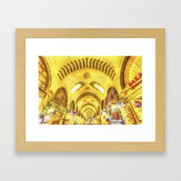 The Spice Bazaar Istanbul Art Framed Art Print