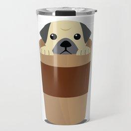 Cute Dog Coffee Travel Mug