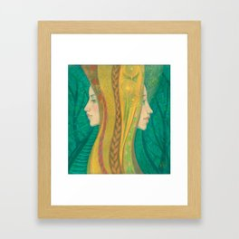 Summer / Dryads Framed Art Print